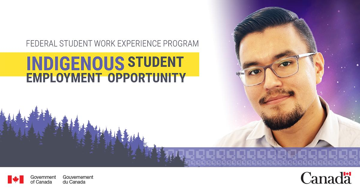 Are you an Indigenous student looking to work in the public service? Apply now to the Indigenous Student Employment Opportunity recruitment inventory: http://ow.ly/NhZj30noF7G