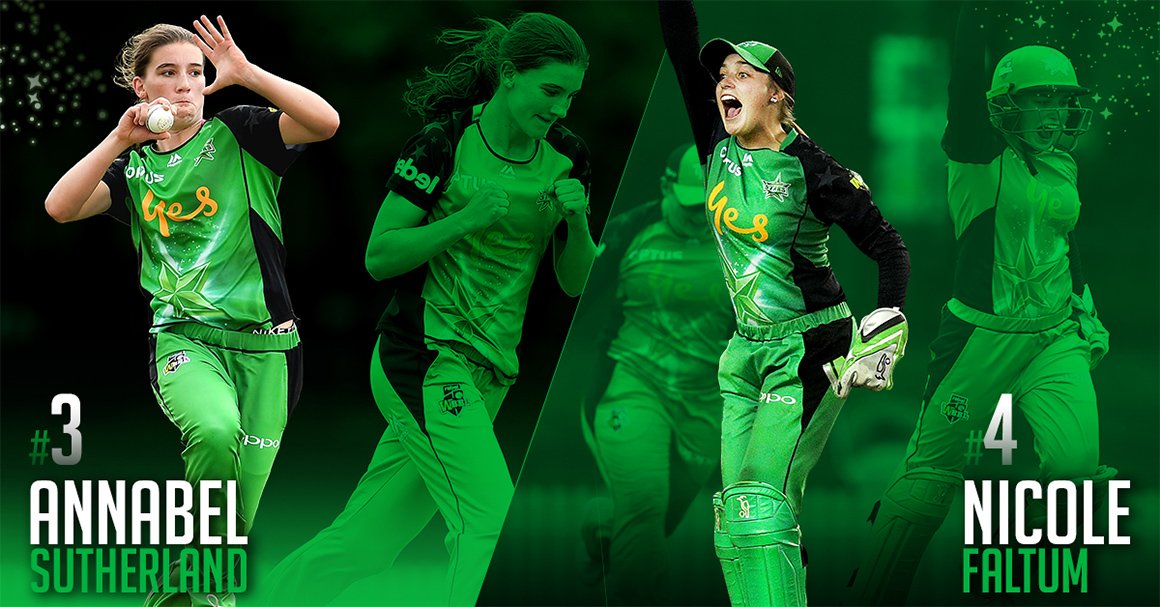 NEWS | We've re-signed two of the most talented young cricketers in Australia! 💚✍️  We're excited to have you back on board #TeamGreen Annabel and Nicole! More: https://strs.co/sutherlandfaltumsign…