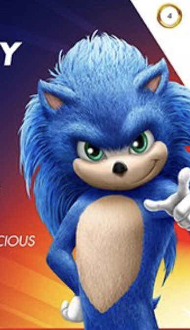 Sonic The Hedgehog Promo Images Give Us Our First Proper Look At The Character S Updated Design