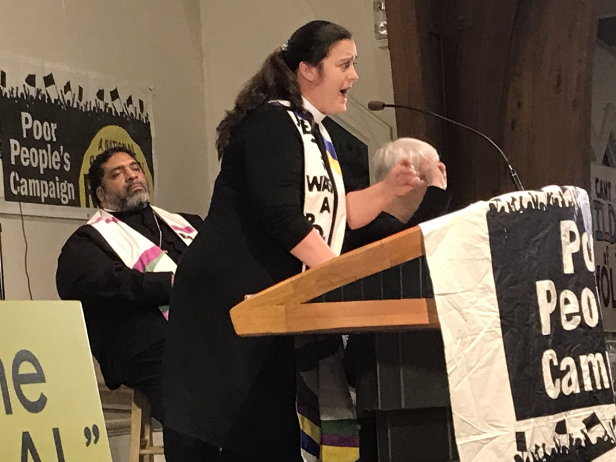 I'm glad to be in Montgomery tonight with my #PoorPeoplesCampaign co-chair @liztheo and the people of Alabama for the REAL #StateoftheState of #Alabama hearing. Join us via livestream right now: http://fb.com/anewppc