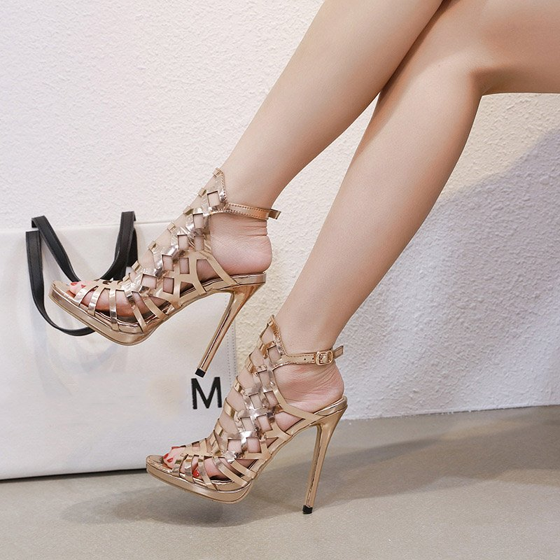 14cc2148f1c7 Shoespie Trendy Peep Toe Stiletto Heel Strappy Dress Sandals  http   urlend.com F3UJ7bN  shoespiereviews