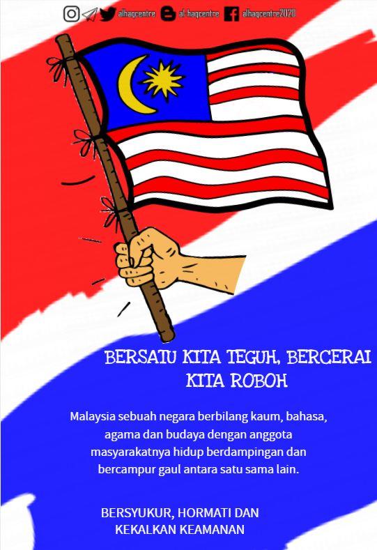 Al Haq Centre Pa Twitter Bersatu Kita Teguh Bercerai Kita Roboh Alhaqcentre Perpaduan Toleransi Malaysia Cintakankeamanan Sayangimalaysiaku Negaraku Tanahtumpahnyadarahku Follow Us Https T Co Xlncoze3iq Https T Co Nztfc79qwc