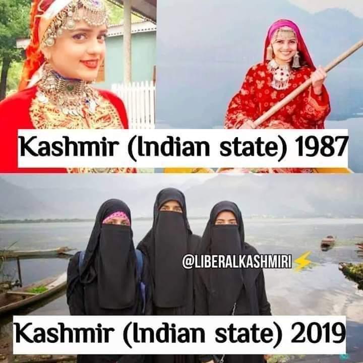 See the Difference 😠😠 #Kashmir  #SayYesToWar  #PKMKB