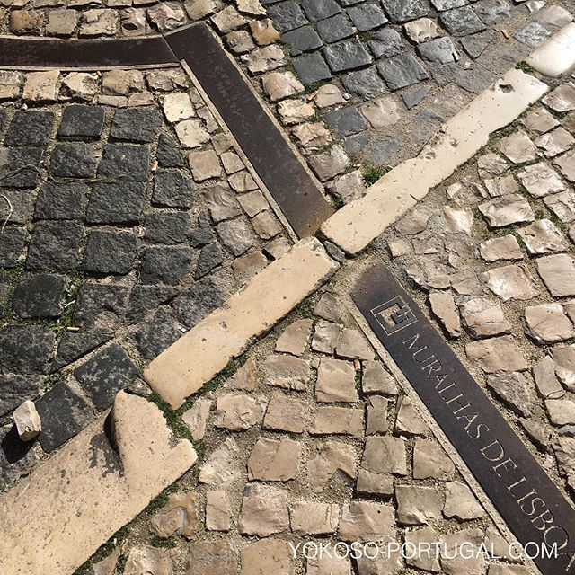 test ツイッターメディア - アルファマ地区には、今はない昔の城壁跡が印されてます。 #リスボン #ポルトガル https://t.co/lXzbS5pVCg