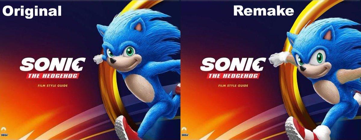 Fans Retocan Las Ultimas Imagenes De La Pelicula De Sonic Y Los Resultados Sorprenden Nintenderos Nintendo Switch Switch Lite Y 3ds