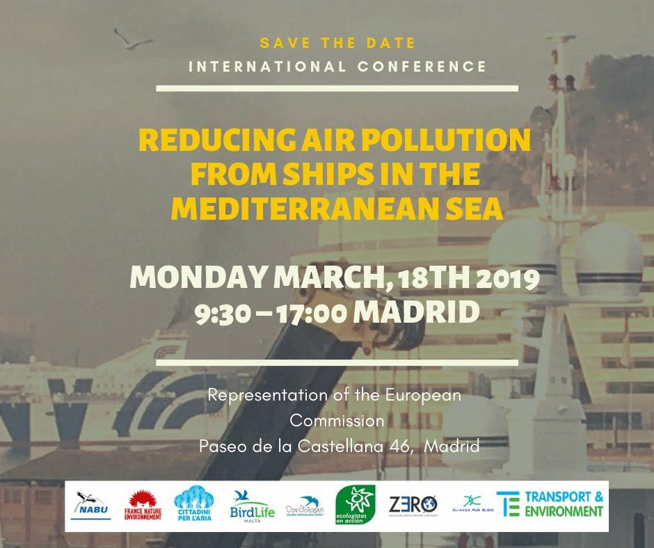 "test Twitter Media - 🔴 3rd International Conference, 18th March 2019. Madrid. ""Reducing air pollution from ships in the mediterranean sea"" French @Min_Ecologie and the European Comission will present their #MedECA assessments.  - Programme and registration 👉 https://t.co/py1UeP4pch   #airpollution https://t.co/L3N6edc6je"