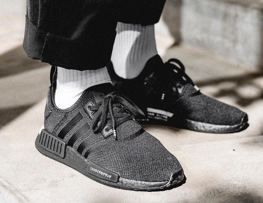 adidas nmd triple black restock