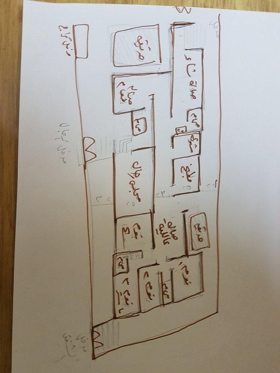 مخطط مبدئي ارض مساحه ٨٠٠م زاويه        ٤٠ ×٢٠ ماستغنى عن اقترحاتكم #مراجعة_تصاميم_المتابعين