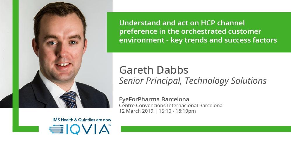 Attending #efpBarca? Gain insight into how key multichannel metrics enable more informed decision making with #IQVIA's GarethDabbs !   Find out more here : http://bit.ly/2XF53sB