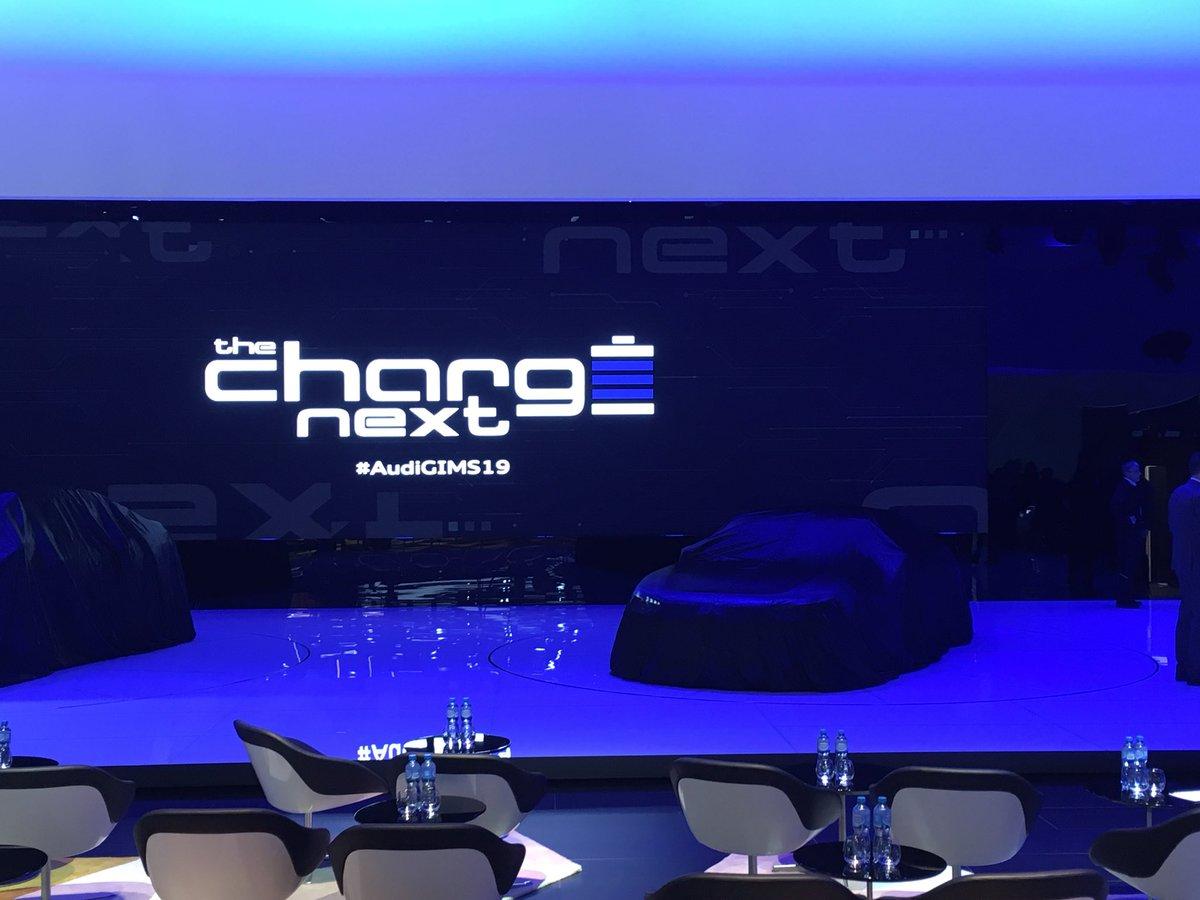 #Audi Pressekonferenz @GimsSwiss kurz vor dem Start