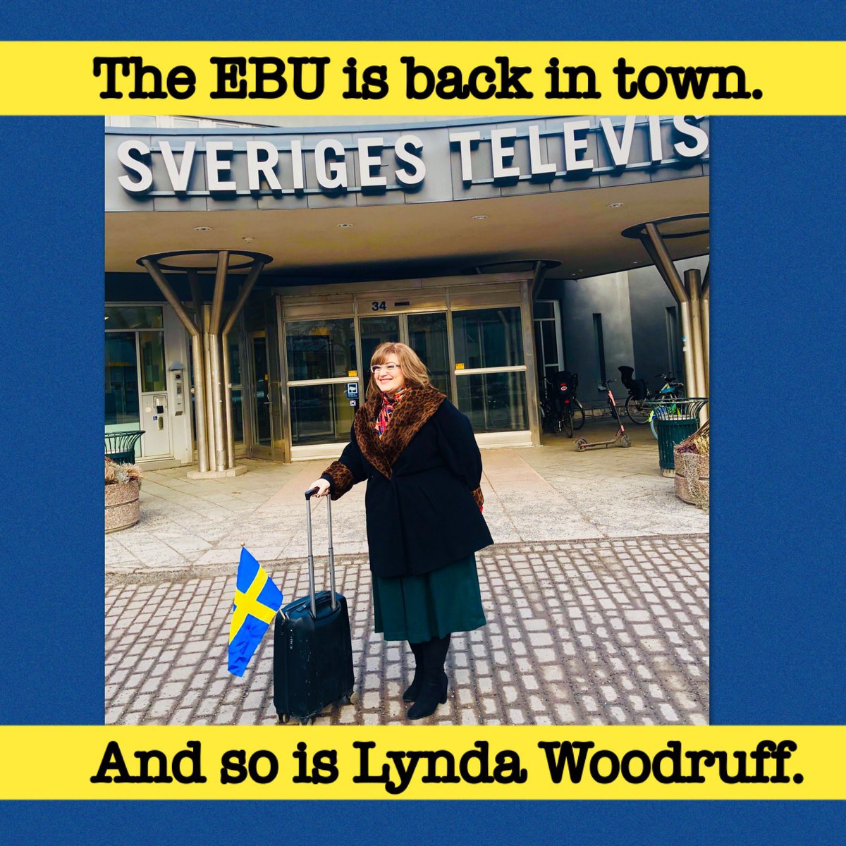 Guess who came to town? See you on Saturday! @SVTmelfest #lyndawoodruff