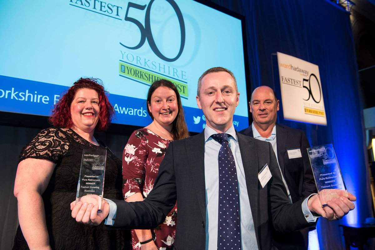 We are delighted to announce that Torsion has been named as one of the 50 fastest growing companies in Yorkshire. #Yorkshire #Fastest50 @WardHadaway