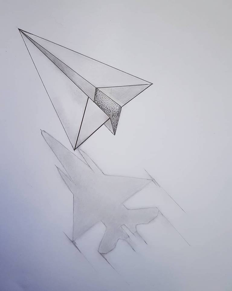 Tattoostudio Sliedrecht On Twitter Paper Plane Tattoo Is One Of My Favorite Kind Of Tattoo And Holds A Number Of