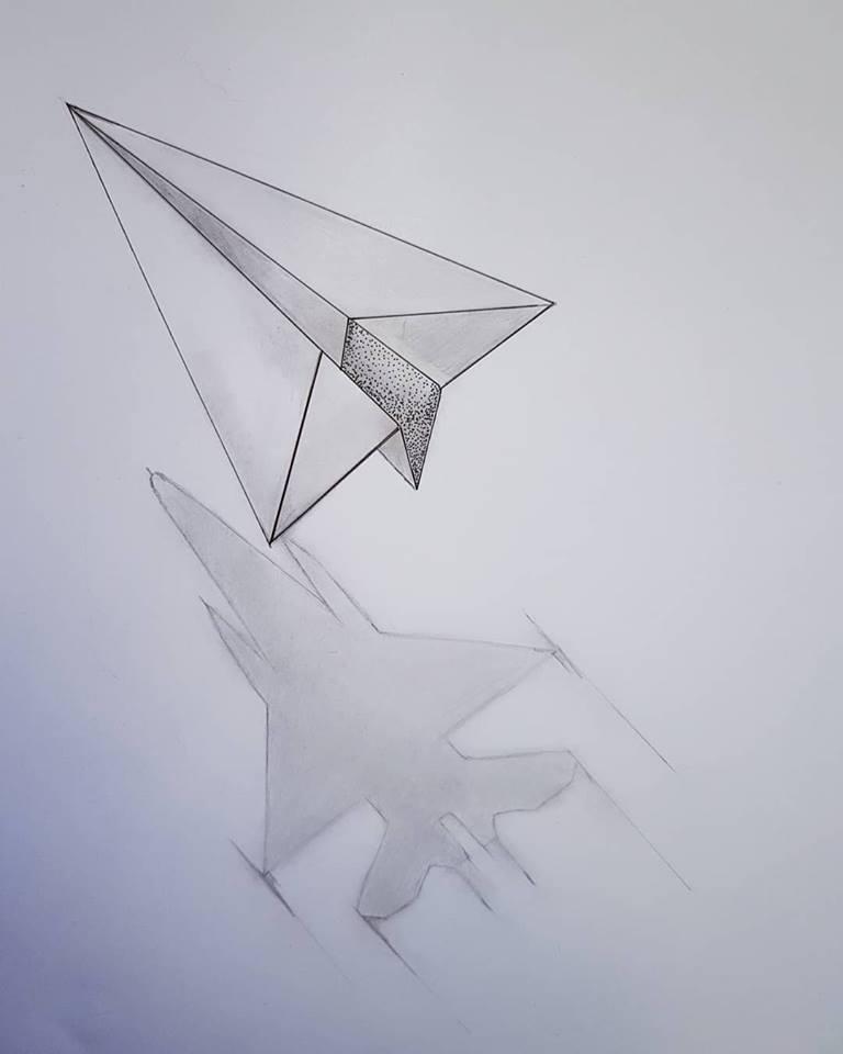 Tattoostudio Sliedrecht On Twitter Paper Plane Tattoo Is One Of