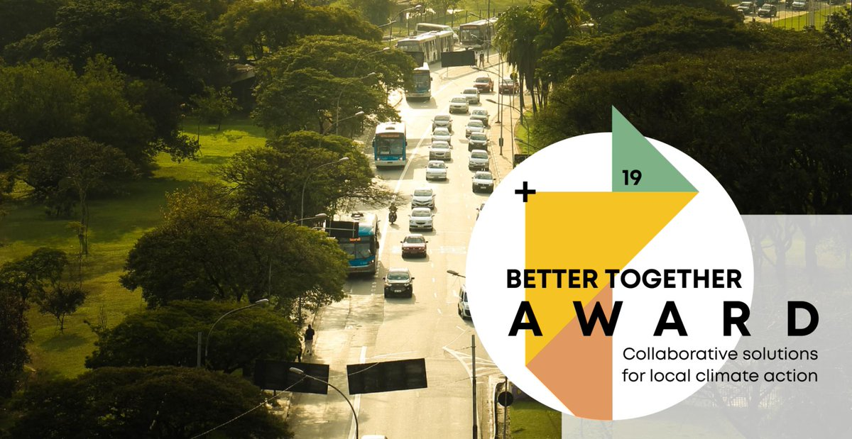 #DYK that #nature & #naturebasedsolutions = #TheForgottenSolution to #climatechange?  Calling all #climateaction changemakers! Are you involved with solving #SDG13? Apply now for the #BetterTogether19 Award!   Learn more about it here: https://t.co/rrIXTYJcXV