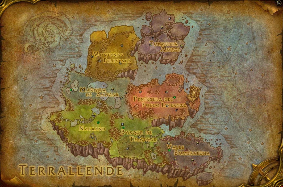 Mapa Reinos Del Este.Proenix Sur Twitter No Es Un Cambio Similar Al Que Se
