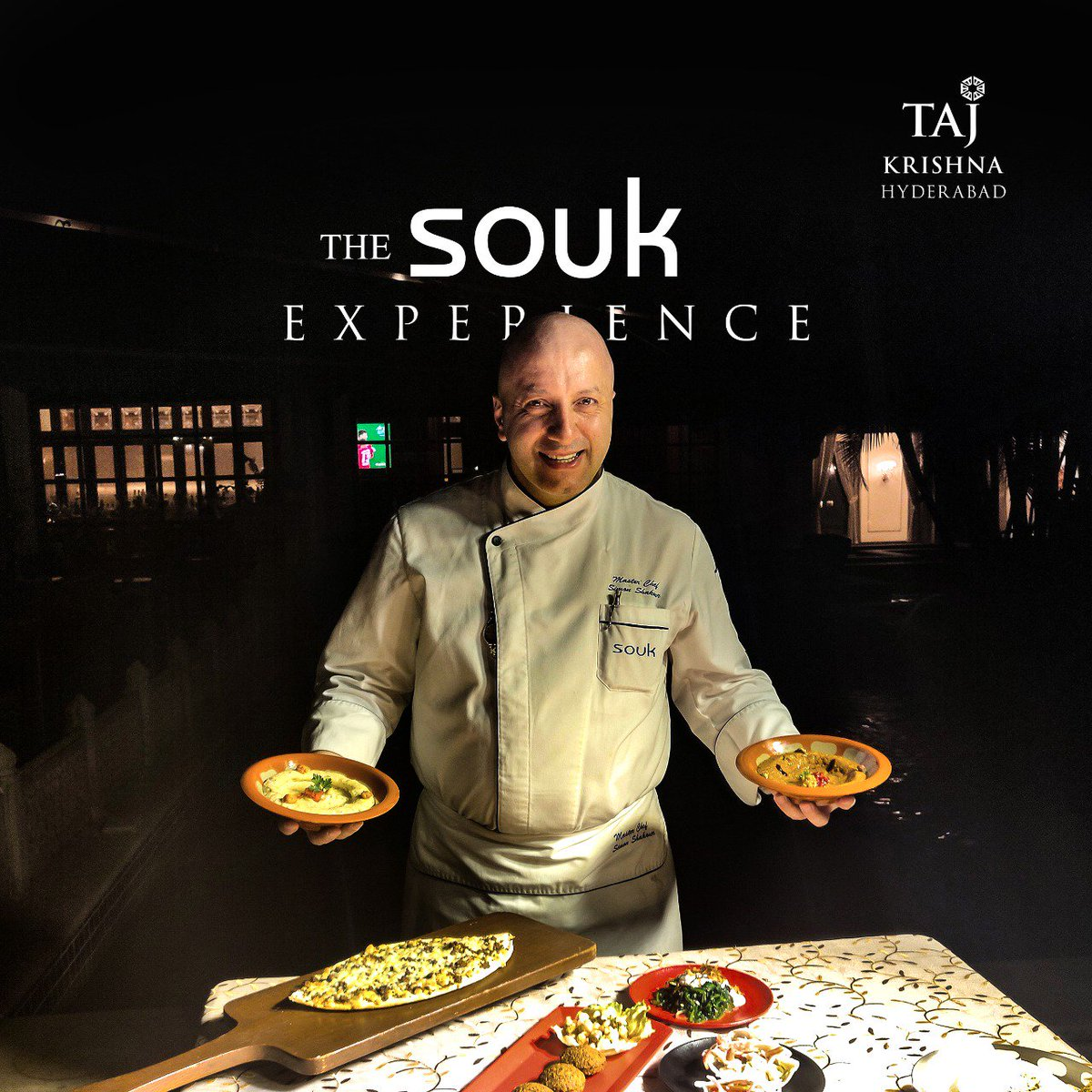 The Souk Experience!  Rich Eastern Mediterranean experience of the @tajmahalmumbai and @tajbengal is now at @tajkrishnahyd  4th to 10th March  Encounters  For reservations: 040 6629 3326  #TajKrishnaHyderabad #tajkrishnahotel #TajMahalPalace #Souk #TheSoukExperience #encounters