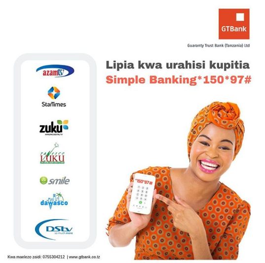 GTBankTanzania tagged Tweets and Download Twitter MP4 Videos | Twitur