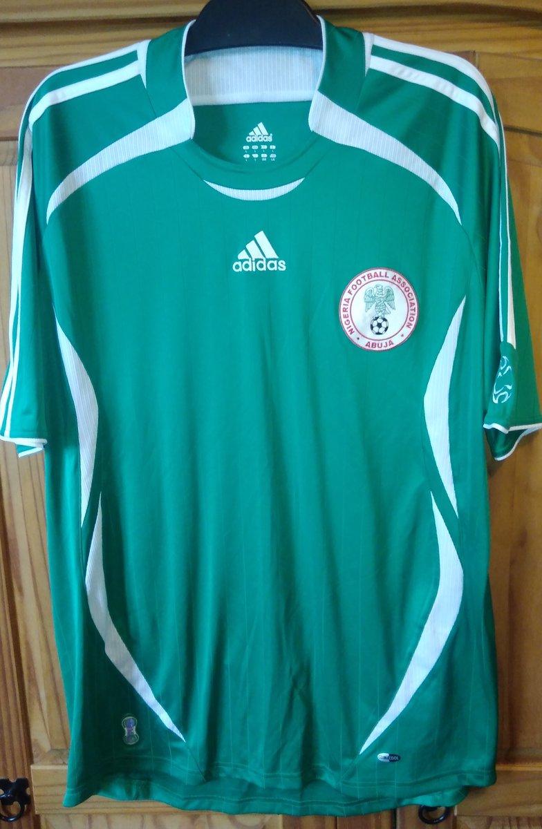 Charity shop finds  2006  thenff football shirt  originalfootballshirts   SuperEagles  adidas  Nigeria  NigeriaFooty  cultkits  Nigeriasocernet ... cf2a5d463