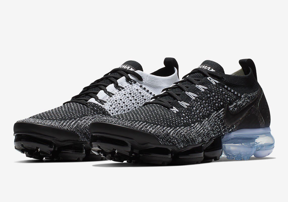 d776338f50 NEW: Nike Air Vapormax Flyknit 2 available in 'Oreo' and 'Volt' + free  shipping via @nikestore Oreo https://bit.ly/2H1HPrA Volt  https://bit.ly/2XE7lZ5 ...