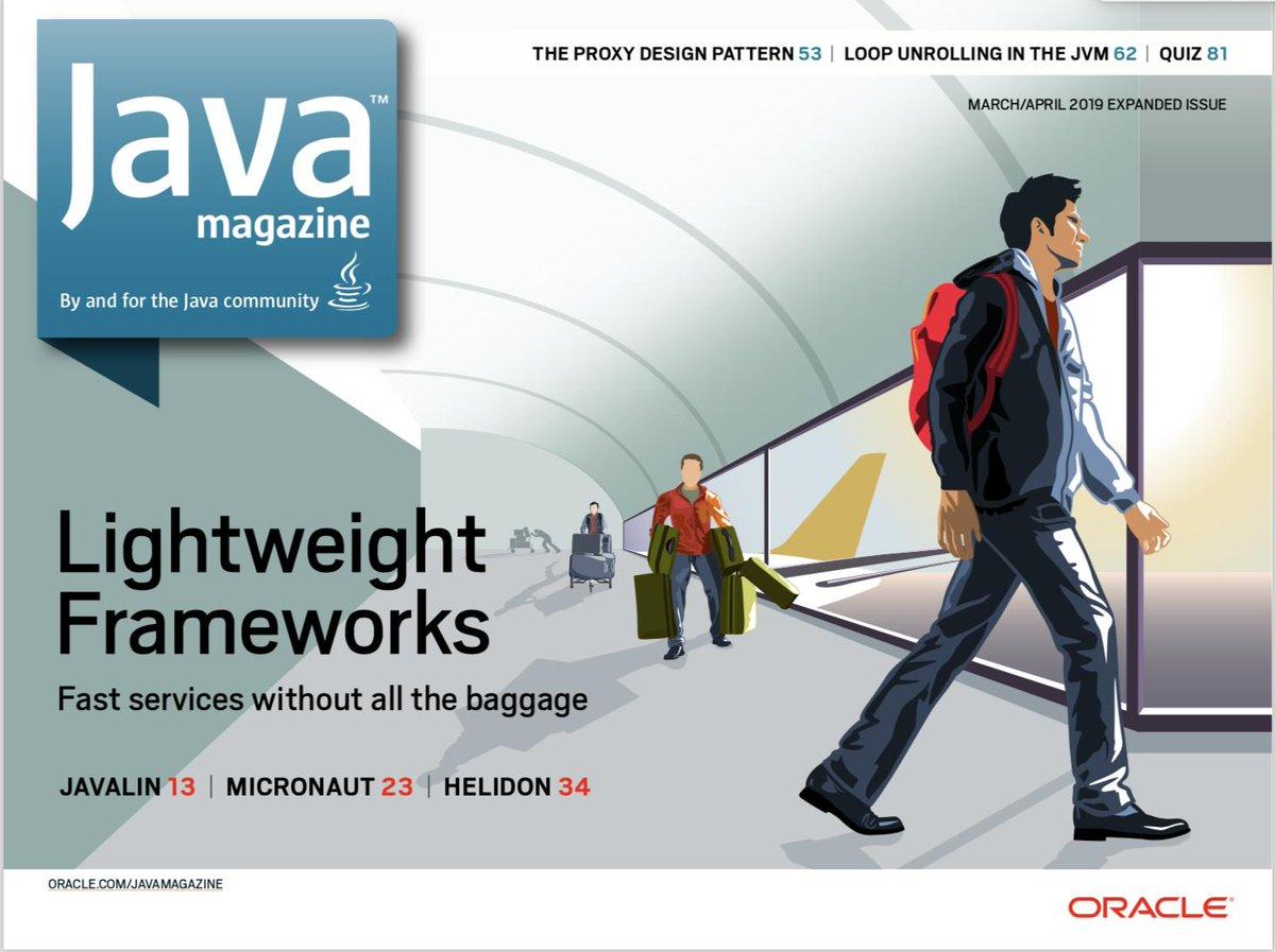 Java Magazine (@Oraclejavamag) | Twitter