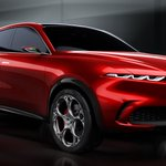 Image for the Tweet beginning: A smaller #AlfaRomeo SUV? That'll