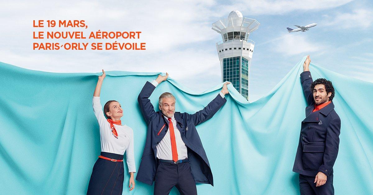 A partir du 19 mars 2019, fini Orly Sud et Orly Ouest : bienvenue à votre nouveau terminal unique, Orly 1️⃣2️⃣3️⃣4️⃣ ! Embarquez depuis Orly 1️⃣ avec @AirFranceFR @hopinfos @tapairportugal @vueling @AirMalta @Alitalia @Iberia Chalair et Twin Jet http://ow.ly/hq2330nVn85