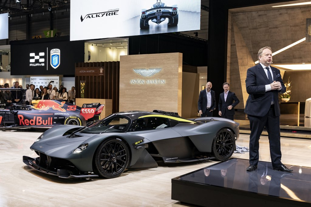 Aston Martin On Twitter The Pursuit Of Beautiful Continues As Aston Martin Valkyrie Takes Centre Stage Here In Geneva Astonmartin Gims