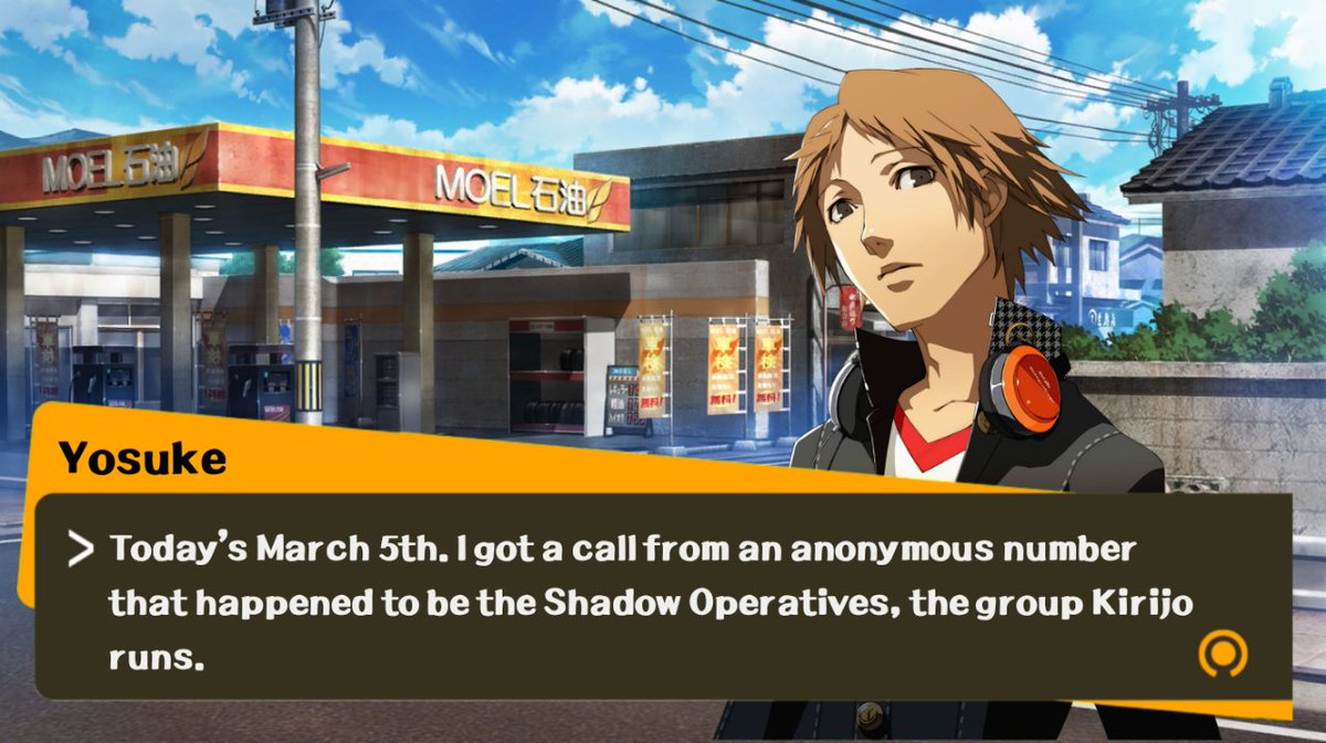 SPOILERS FOR P3*** Admin: Reupload  I used the anonymous