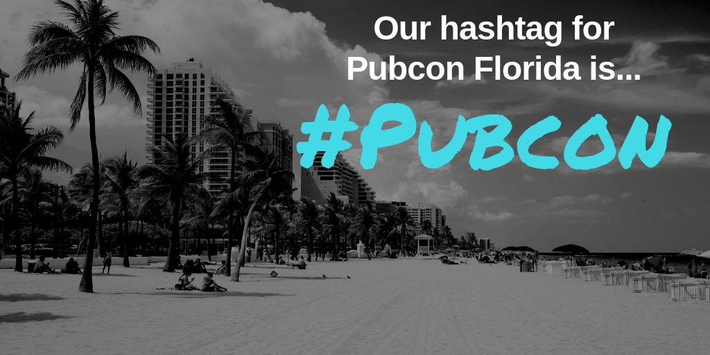 Tweeting about you are learning at Pubcon today? Make sure you use #Pubcon!