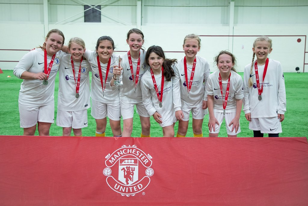 Congratulations to @TheBollin and @StJosephsSale who have won our regional @PremierLeague schools tournament. Both teams will now represent @ManUtd at the national finals which are being held at Molineux stadium in May ⚽️👏🏆 #PLPrimaryStars @PLCommunities