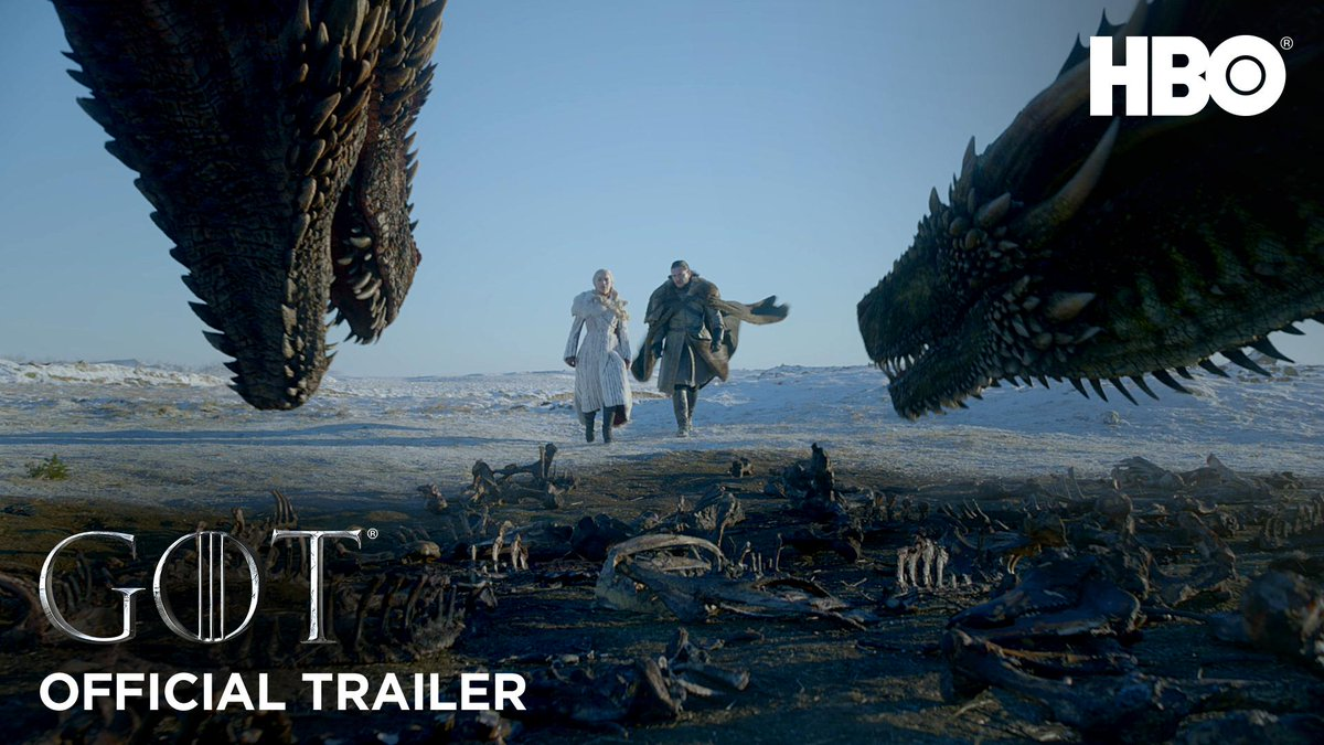 The trailer is here. #GameofThrones