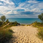 Image for the Tweet beginning: Indiana Dunes National Park has