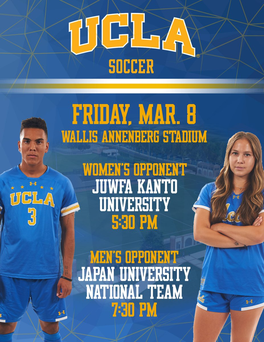 02900643283 8 as part of a doubleheader with @UCLAWSoccer at Wallis Annenberg Stadium.  READ | https://ucla.in/2VvEkNy #GoBruinspic.twitter.com/pvcHVh7ORS