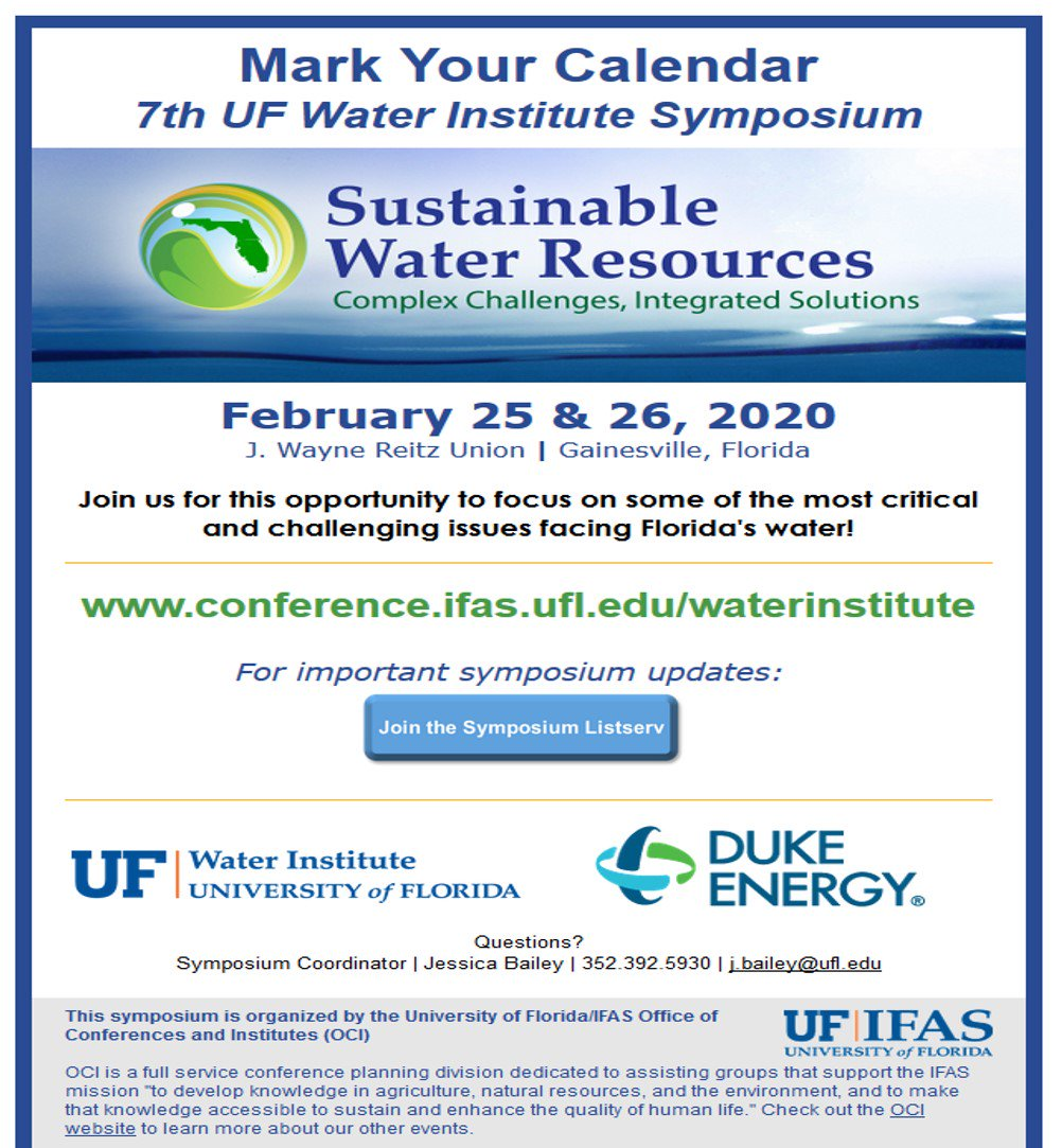 Uf Calendar 2020.Ufwater20 Hashtag On Twitter