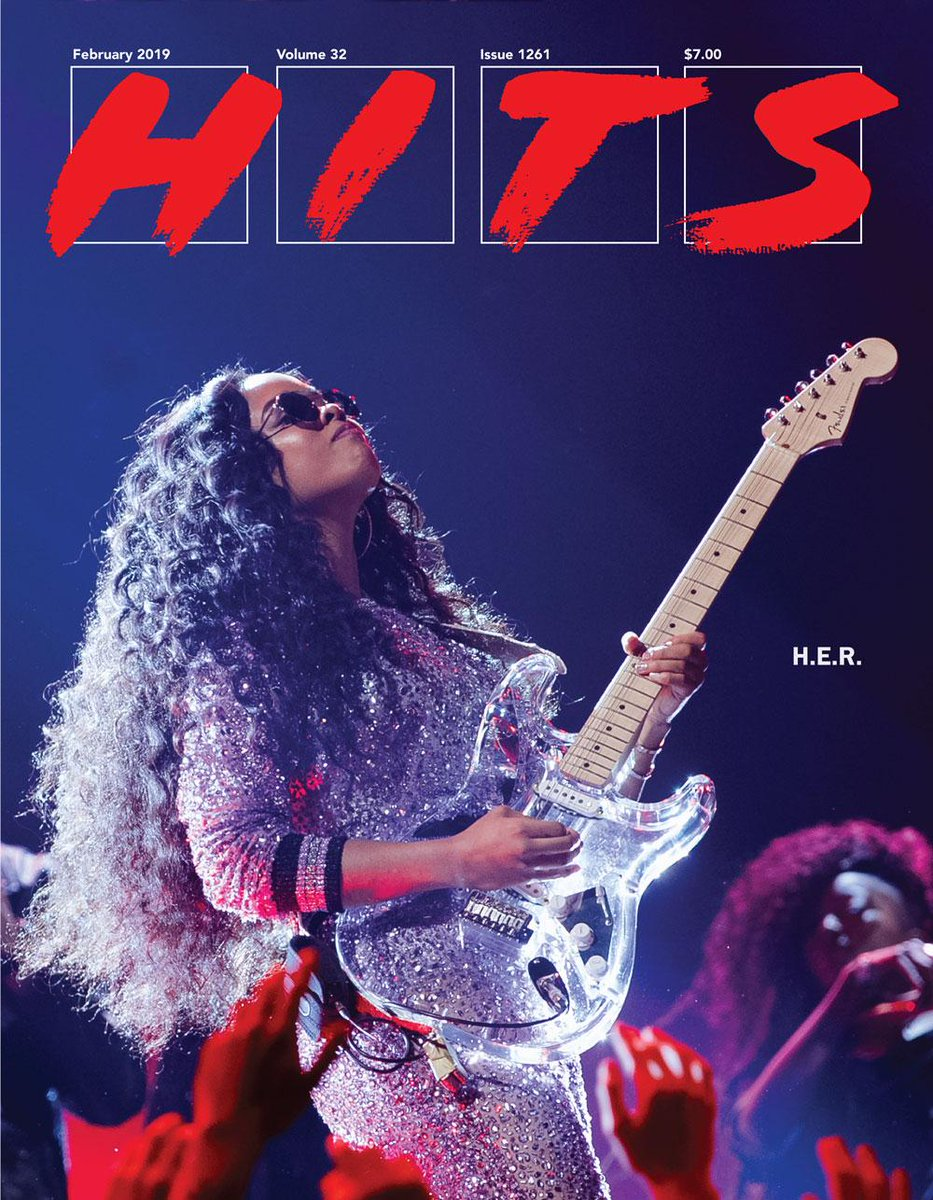 On the cover of our most recent print edition: A powerful shot of #Grammy2019 breakout @HERMusicx. @RCARecords<br>http://pic.twitter.com/swoYV45Gpp