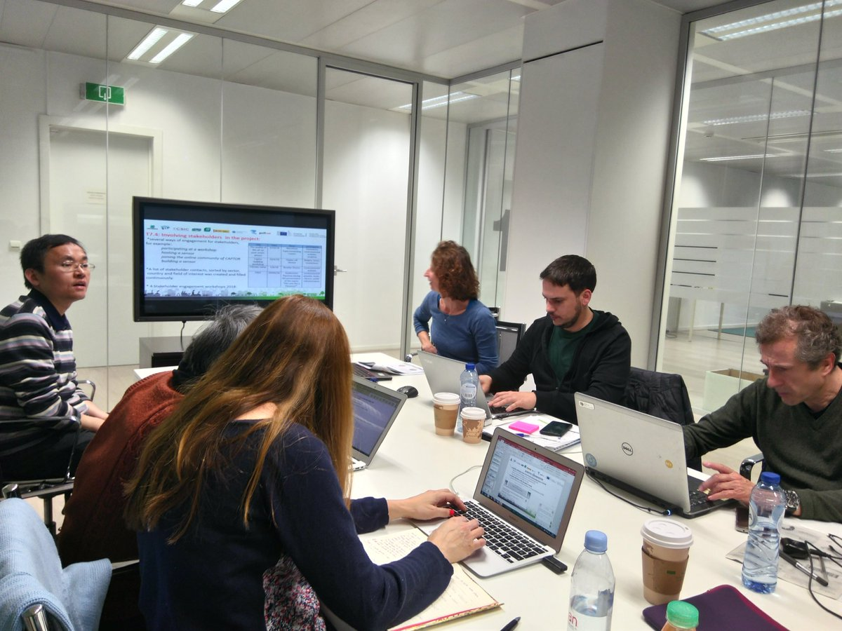 test Twitter Media - #Captorproject team preparing the  second Review meeting in Brussels. 🔴 Achievements and principal outcomes of the work done during the second part of the project. @CAPSSIEU @EU_H2020 https://t.co/kR0vZGqpO1