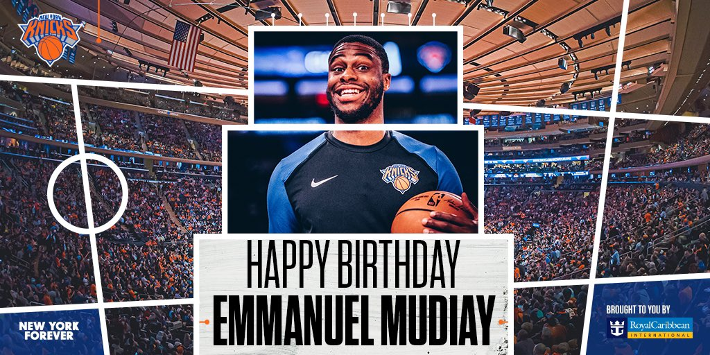 Birthday MOODiay 😁 Join us in wishing our guy @emmanuelmudiay a very Happy Birthday! 🎊🎁🎂