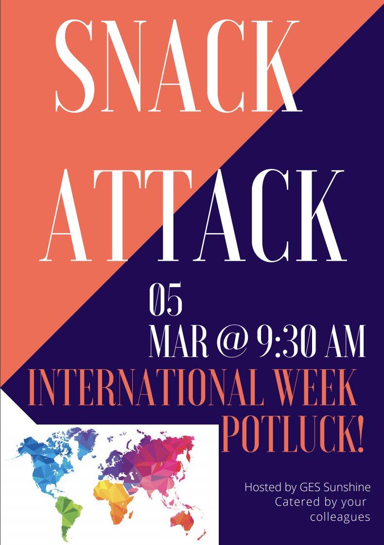 Enjoying foods from across the globe at our international week potluck! @GESatKAUST #GESSunshineCommittee