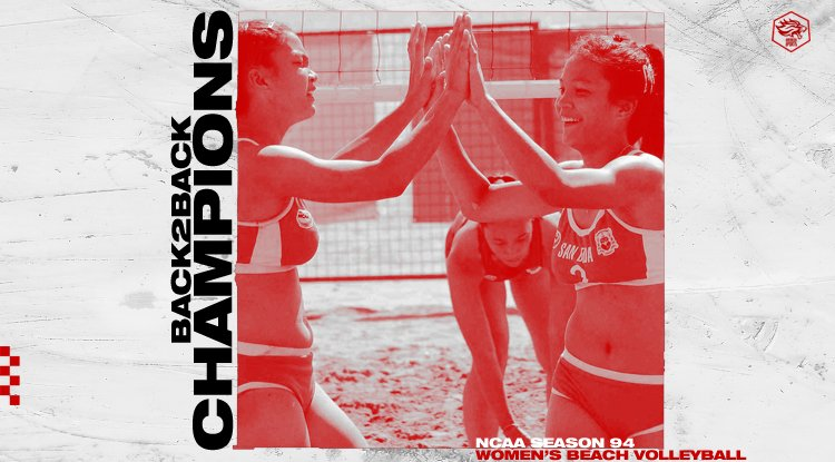 Congratulations, San Beda Lady Red Spikers! #NCAASeason94 Beach Volleyball Back-to-Back Champions! #AnimoSanBeda<br>http://pic.twitter.com/P6lCtXNXp5