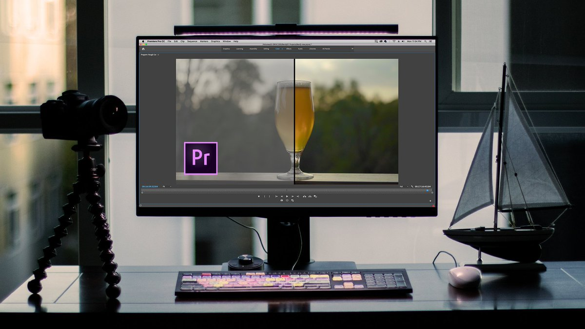 New vid! LOG vs HLG | How to Use LUTS and Color Grade in Premiere Pro Lumetri (BenQ PD2700U) ft. @alisterrobbie & @PostColorBlog https://youtu.be/Ji0g3zY2hCg  --- lots of info!