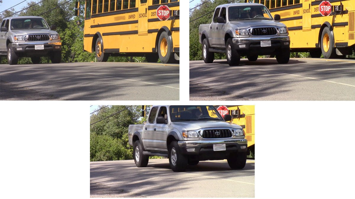 Everyone knows to stop when a school bus is loading and unloading passengers, but what you may not know is that if you don't stop, you could get a ticket of up to $250. You must stop whether driving behind bus or approaching bus from opposite direction. #Stopforthekidssake