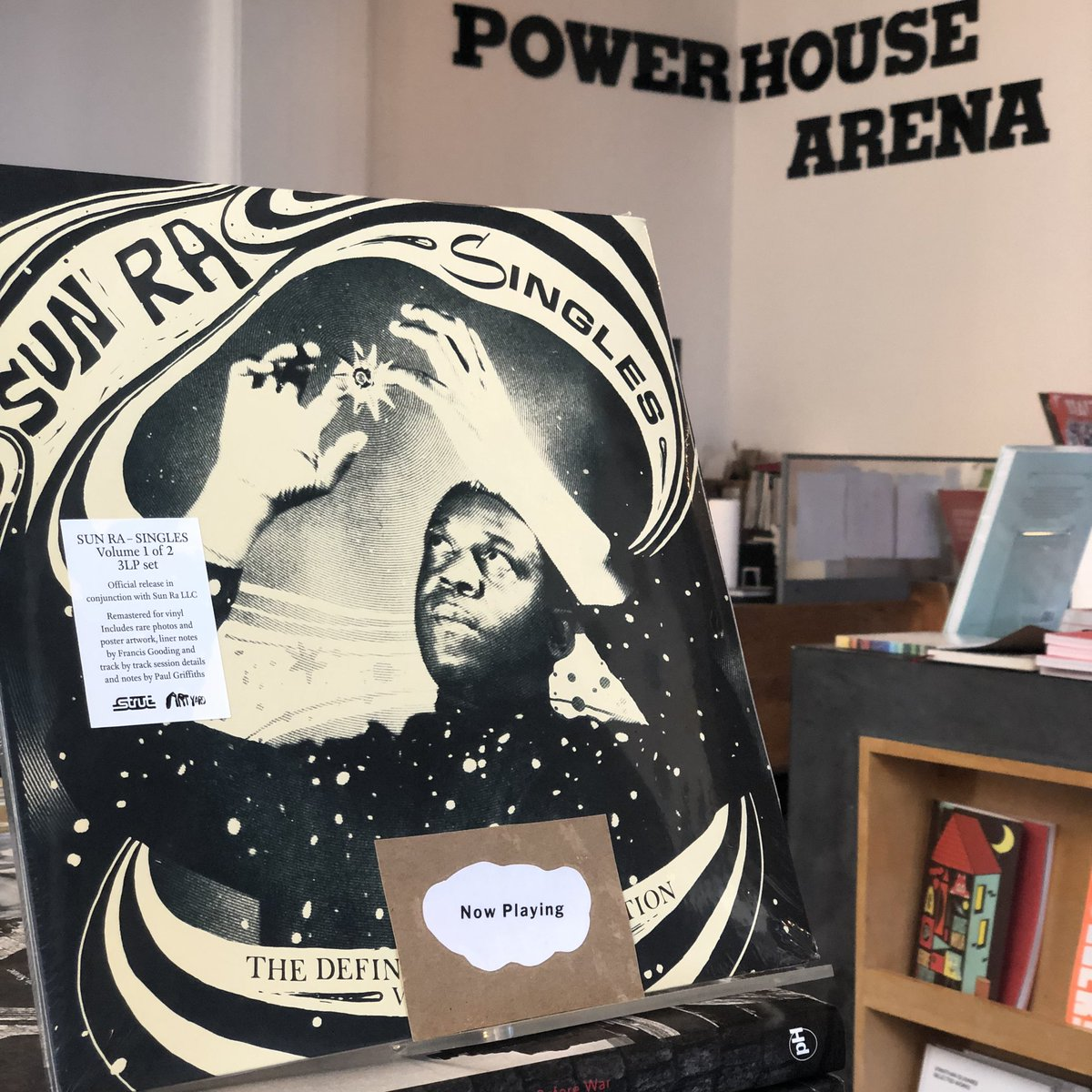 POWERHOUSEArena Did you know that we sell vinyl? Dust off