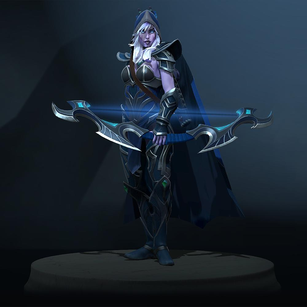Matthew Bailey On Twitter Drow Ranger Remodel Dota2