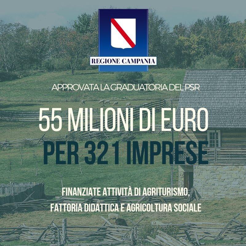 ... regionale della tipologia 6.4.1 del PSR che finanzia per circa 55  milioni di euro 321 imprese agricole che hanno investito in attività di  agriturismo b532e95d7115