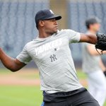 Image for the Tweet beginning: Luis Severino was scratched from