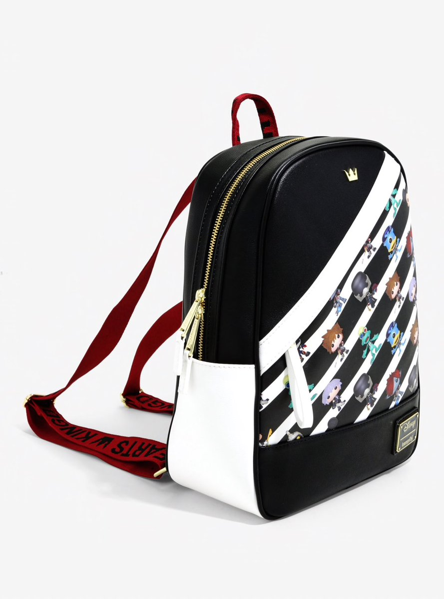 e356aea646a BoxLunchGifts is now selling this exclusive Loungefly Funko Pop KINGDOM  HEARTS Striped Mini Backpack for  64.90!  kingdomhearts  KH  キングダムハーツ ...