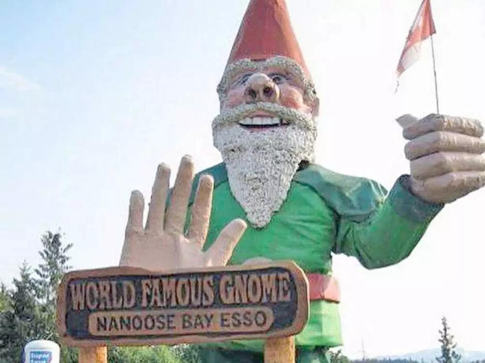 Howard the Gnome Looks for a New Home