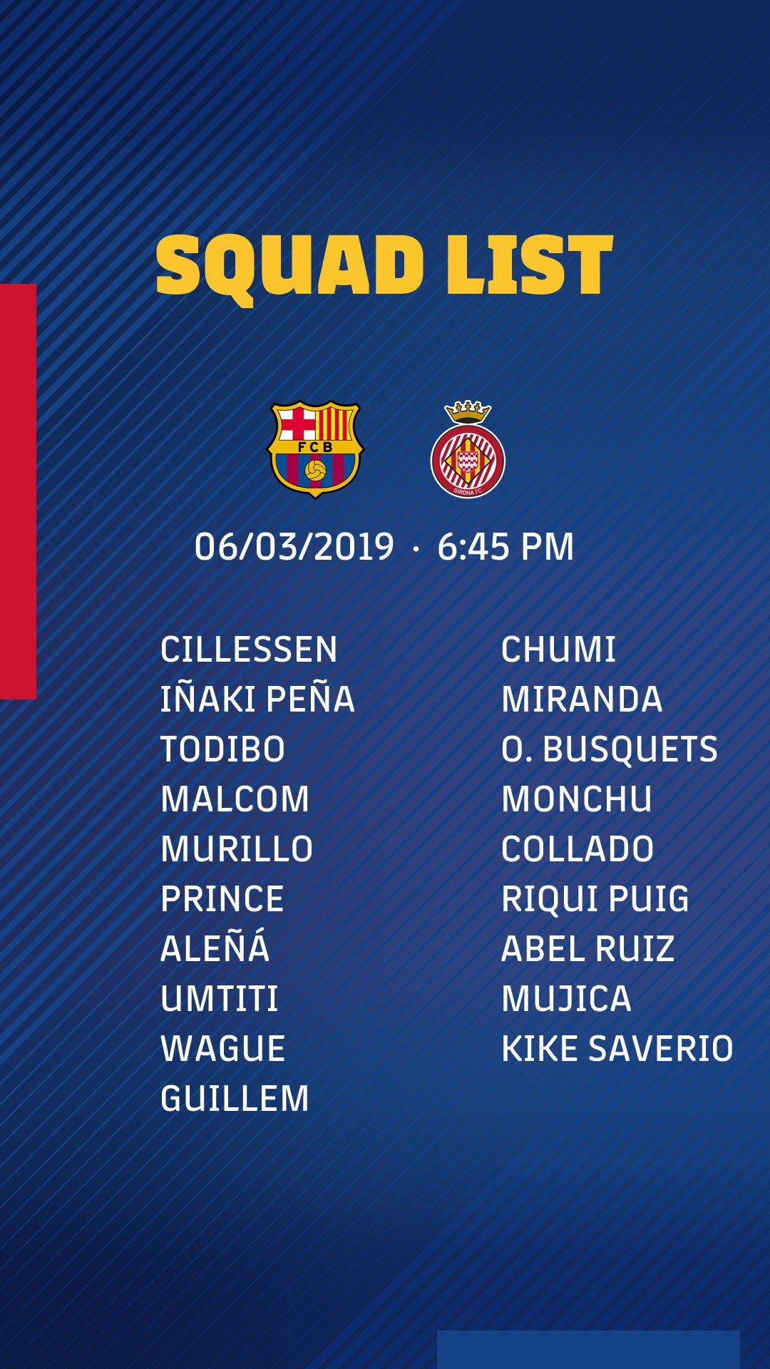 Barcelona Girona Catalaanse Supercup