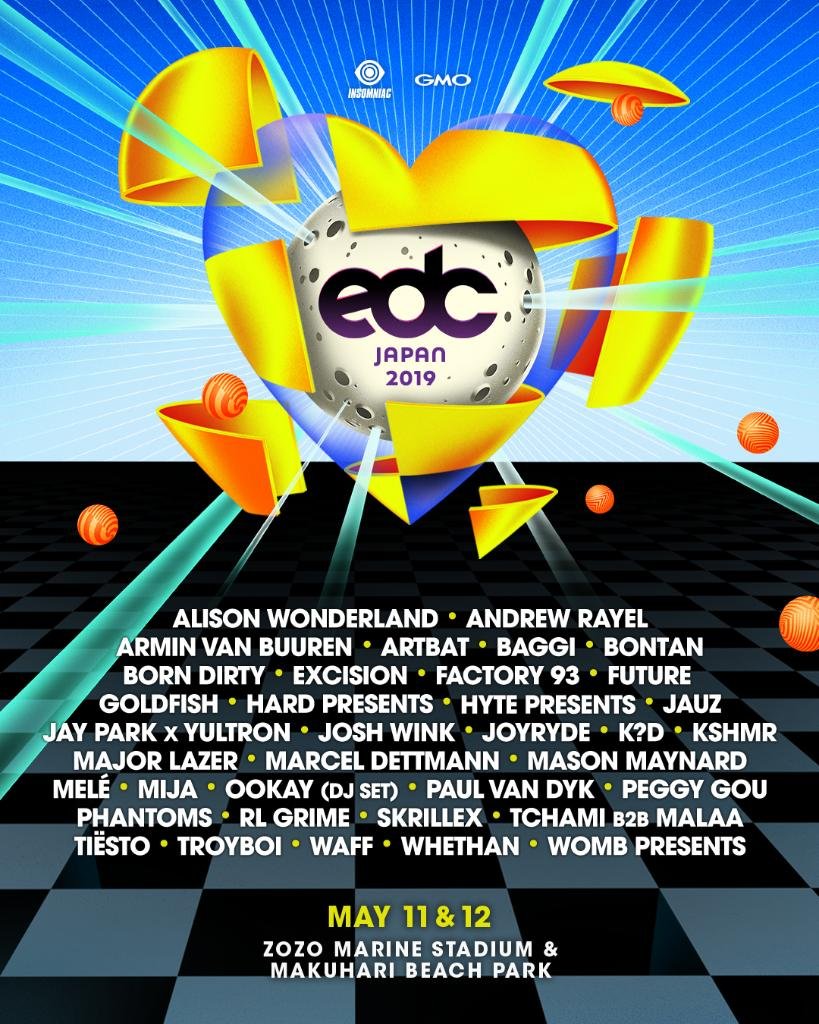 EDC Japan 2019 | Lineup | Tickets | Dates